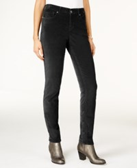 Styleandco. Style Co. Colored Skinny Jeans Only At Macy's Deep Black