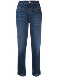Closed High Waisted Straight Jeans 60