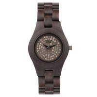 Wewood Moon Crystal Watch Chocolate