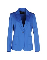 Seventy By Sergio Tegon Suits And Jackets Blazers Women Blue