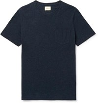 Bellerose Coul Cotton Jersey T Shirt Navy