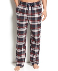 Perry Ellis Men's Sleepwear Plaid Flannel Pants