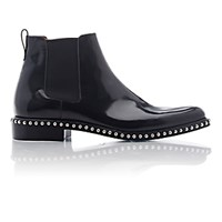 Givenchy Men's Studded Perry Chelsea Boots Black Blue Black Blue