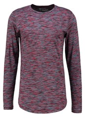 Jack And Jones Jorbask Slim Fit Long Sleeved Top Syrah Bordeaux