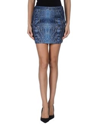 Barbara Bui Mini Skirts Dark Blue