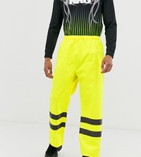 Reclaimed Vintage High Vis Trousers In Yellow