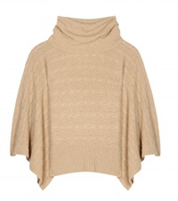 Polo Ralph Lauren Crystal Wool And Cashmere Blend Sweater Beige