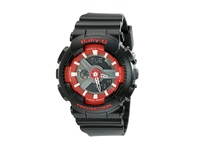 G Shock Ba110sn Black Red Watches