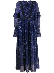 Three Floor Eventide Dress Blue