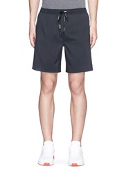 The Upside 'Moonless' Stretch Performance Shorts Black