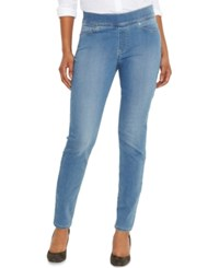 Levi's Skinny Perfectly Slimming Pull On Jeggings Minna Blue