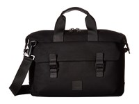 Knomo London Fulham Tournay Topload Brief Black Briefcase Bags