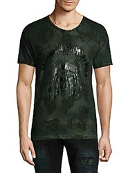 Robin's Jean Military Cotton Tee Green