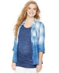 Wendy Bellissimo Maternity Split Back Shirt