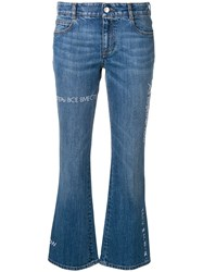 Stella Mccartney All Together Now The Skinny Kick Jeans Blue