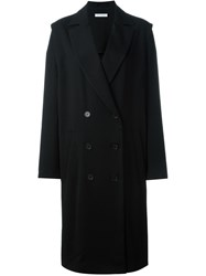 J.W.Anderson J.W. Anderson Double Breasted Coat Black
