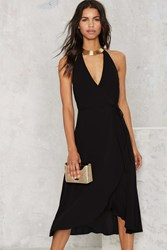 Nasty Gal After Party Vintage Encore Wrap Dress