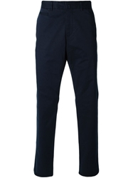 Z Zegna Tailored Chino Trousers Blue