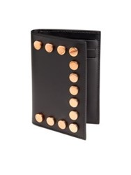 Givenchy Studded Leather Wallet Black