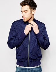 Esprit Waterproof Harrington Jacket Navy