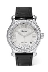 Chopard Happy Sport 36Mm Stainless Steel Silver