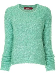 Sies Marjan Tinsel Jumper Green