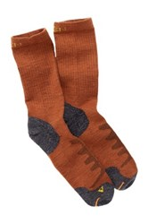 Keen Olympus Lite Crew Sock Orange