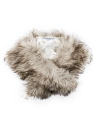 Chesca Fox Faux Fur Collar Scarf