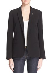 Women's Zadig And Voltaire Skull Pin One Button Blazer