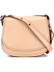 Coach Saddle Bag Nude And Neutrals