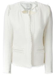 Iro Blazer Jacket White