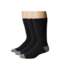 Steve Madden 3 Pack Solid Crew Grey 2 Crew Cut Socks Shoes Gray