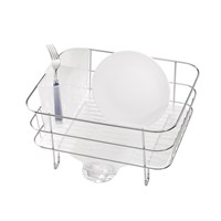 Simplehuman Brushed Steel Compact Dish Rack