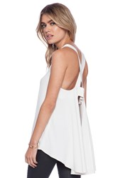 Autograph Addison Ross Cross Back Tank White