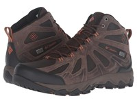 Columbia Peakfreak Xcrsn Ii Mid Leather Outdry Cordovan Bright Copper Men's Shoes Bronze