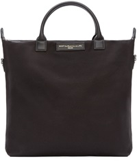 Want Les Essentiels Black Canvas O'hare Shopper Tote