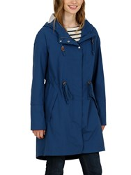 Seasalt Rain Collection Porthchapel Waterproof Mac Marine