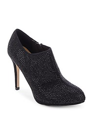 Saks Fifth Avenue Studded Ankle Boots Black