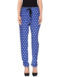 Markus Lupfer Casual Pants Blue