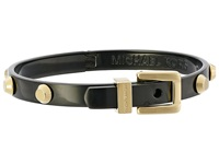 Michael Kors Astor Buckle Bangle Two Tone Bracelet Metallic