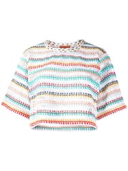Missoni Mare Loose Knit Cropped Top 60