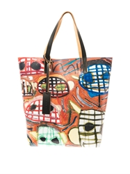 Marni Christophe Joubert Pvc And Leather Tote