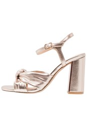 Office Snap Sandals Rose Gold