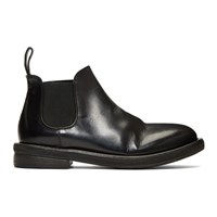 Marsell Black Bombolone Chelsea Boots