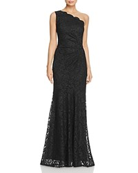 Decode 1.8 One Shoulder Lace Gown Black