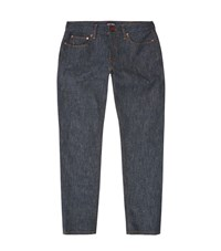 Giorgio Armani Gold Trim Straight Leg Jeans Male