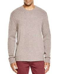 The Men's Store At Bloomingdale's Cashmere Diamond Pattern Sweater Toasted Almond