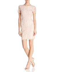 Molly Bracken Embellished V Back Dress Pale Pink