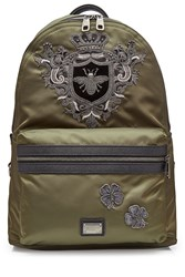 Dolce And Gabbana Backpack With Embellishment Multicolor