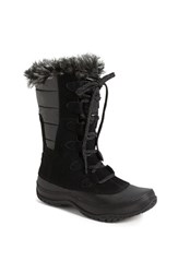 The North Face Women's 'Nuptse Purna' Waterproof Primaloft Eco Insulated Winter Boot Black